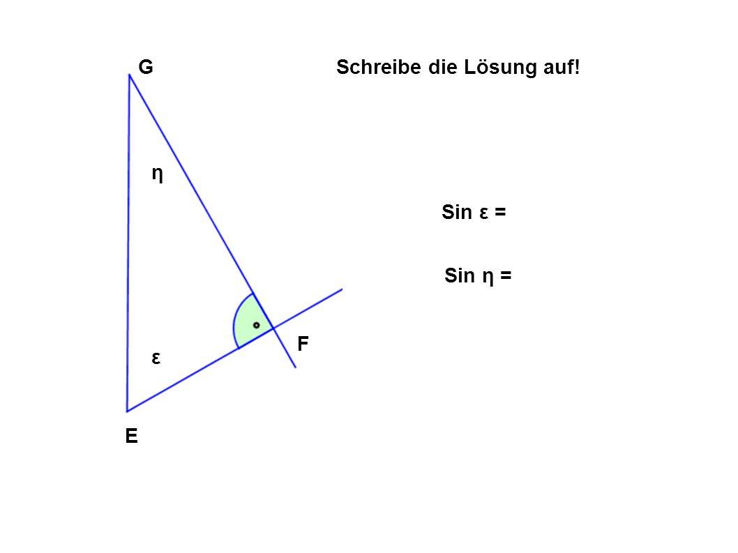 Zeichne selbst 4 rechtwinkelige Dreiecke Beschrifte Sie Gib sie deinem Nachbarn/ deiner Nachbarin zur Lösung