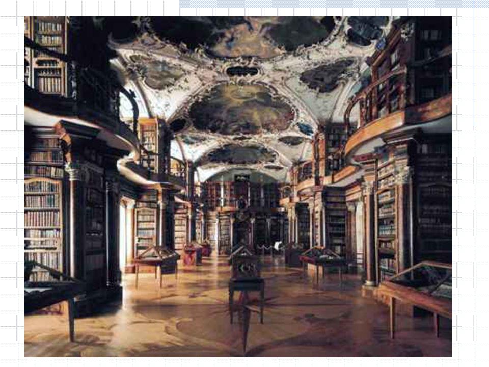 Bibliothekswandel Barocke Saalbibliothek Bücher, Bibliothekare und Leser vereint im Raum: face-to-face Kommunikation der frühen Wissenschaft Dreigliedrige Bibliothek Bücher versteckt, Bibliothekare versteckt Freihandbibliothek Bücher da.