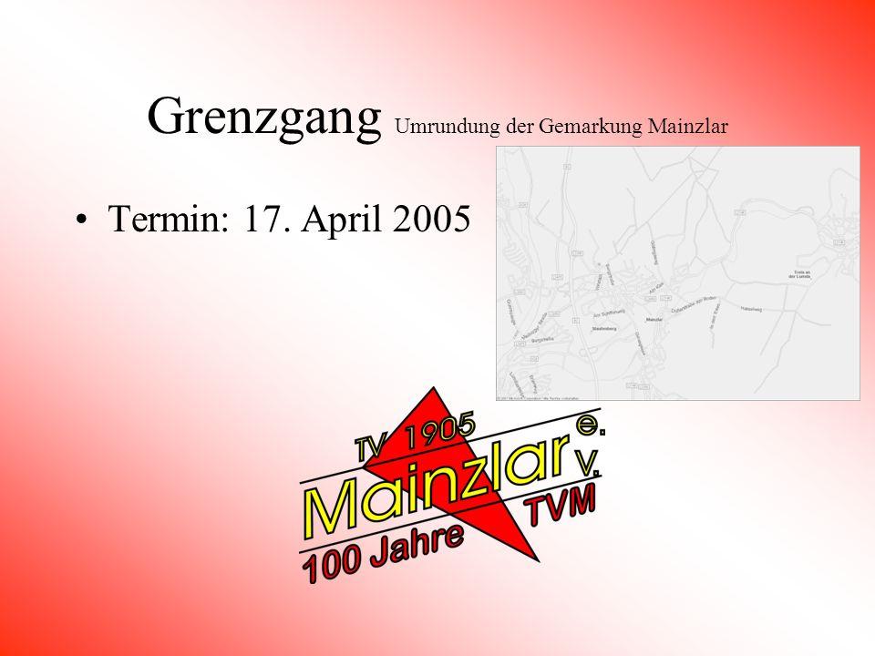 Prunksitzung in der Stadthalle Staufenberg Termin: 22. Januar 2005