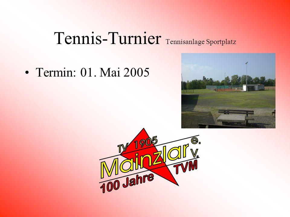 Grenzgang Umrundung der Gemarkung Mainzlar Termin: 17. April 2005