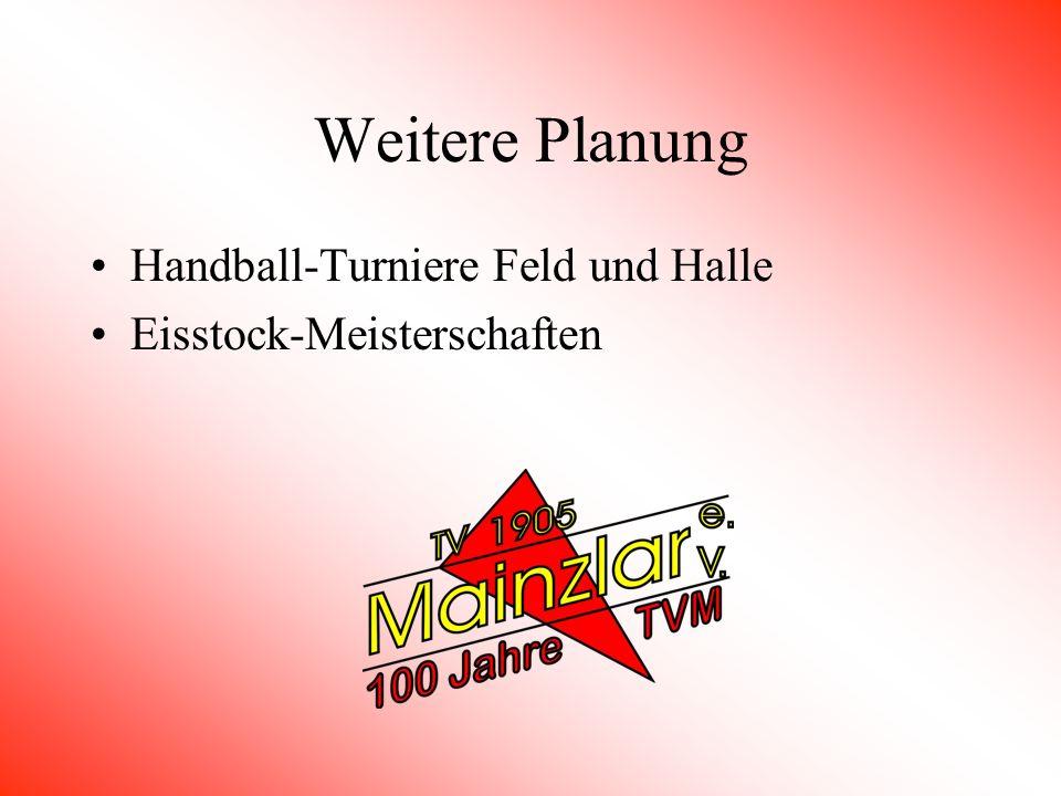 Sonstige Aktivitäten Erstellen einer Vereinschronik TV 1905 Mainzlar im Zeichen der Zeit