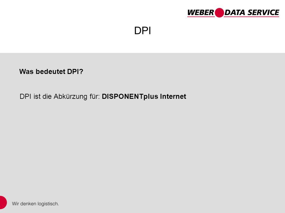 DPI – DISPONENTplus Internet DPI ist die Abkürzung für: DISPONENTplus Internet DPI Was bedeutet DPI?