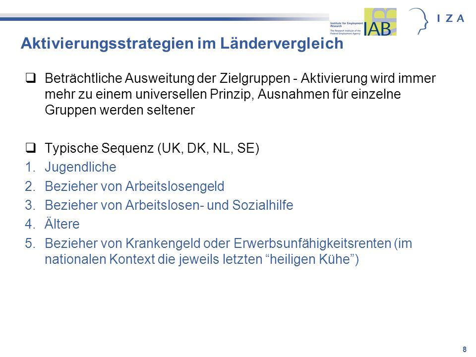 19 Werner Eichhorst Forschungsinstitut zur Zukunft der Arbeit (IZA) eichhorst@iza.org Regina Konle-Seidl Institut für Arbeitsmarkt- und Berufsforschung (IAB) regina.konle-seidl@iab.de