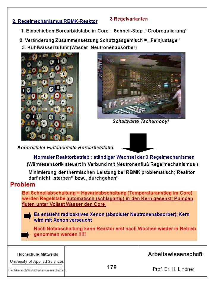Hochschule Mittweida University of Applied Sciences Fachbereich Wirtschaftswissenschaften Arbeitswissenschaft Prof. Dr. H. Lindner 178 Vergleich KKW D