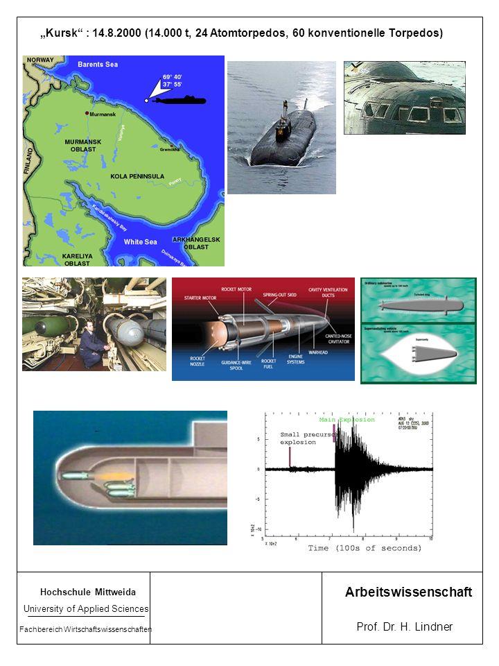 Hochschule Mittweida University of Applied Sciences Fachbereich Wirtschaftswissenschaften Arbeitswissenschaft Prof. Dr. H. Lindner 186c Atombome Hiros
