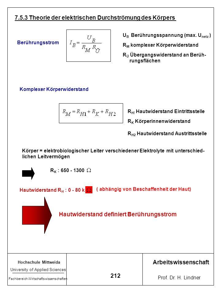 Hochschule Mittweida University of Applied Sciences Fachbereich Wirtschaftswissenschaften Arbeitswissenschaft Prof. Dr. H. Lindner 211 Störung EKG inf