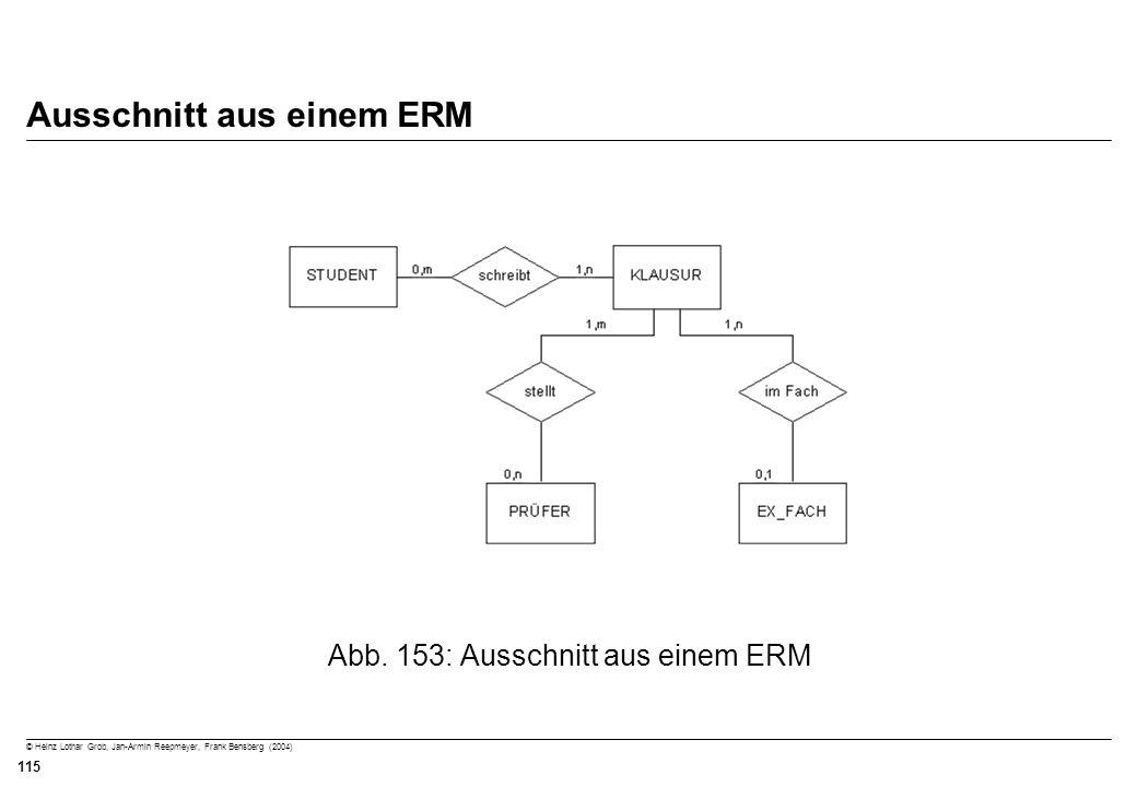 © Heinz Lothar Grob, Jan-Armin Reepmeyer, Frank Bensberg (2004) 115 Ausschnitt aus einem ERM Abb. 153: Ausschnitt aus einem ERM