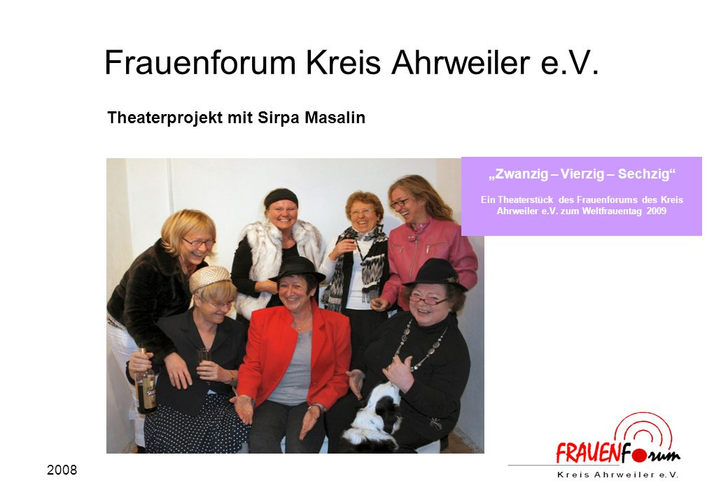 2008 Frauenforum Kreis Ahrweiler e.V.