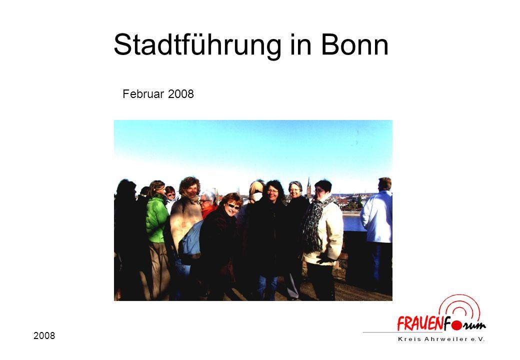 Stadtführung in Bonn Februar 2008 2008