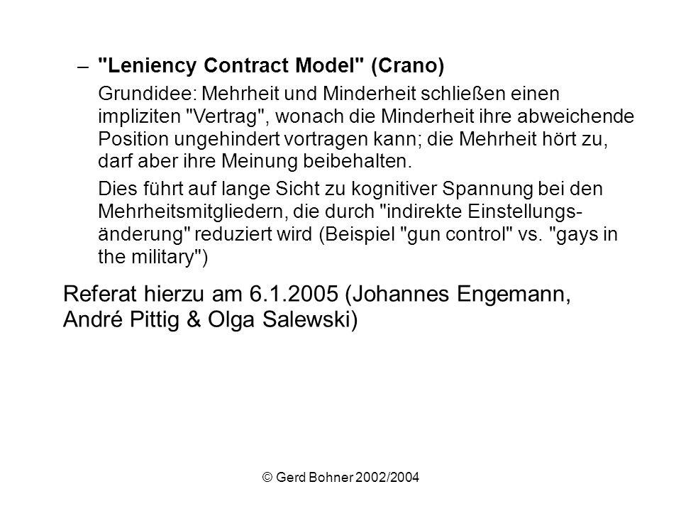 © Gerd Bohner 2002/2004 –