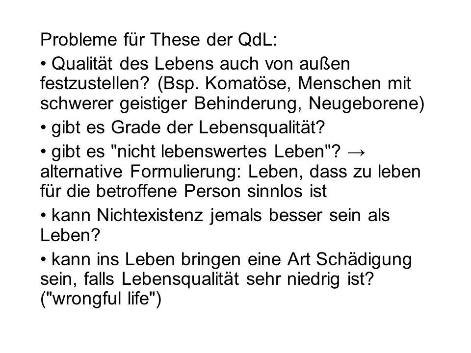 Der Vermittlungsversuch von R.Dworkin (Die Grenzen des Lebens, Kap.
