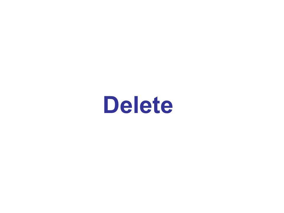 a c be d f g t 1 2 3 2 1 1 2 1 1 1 1 1 1 Delete(d, g)