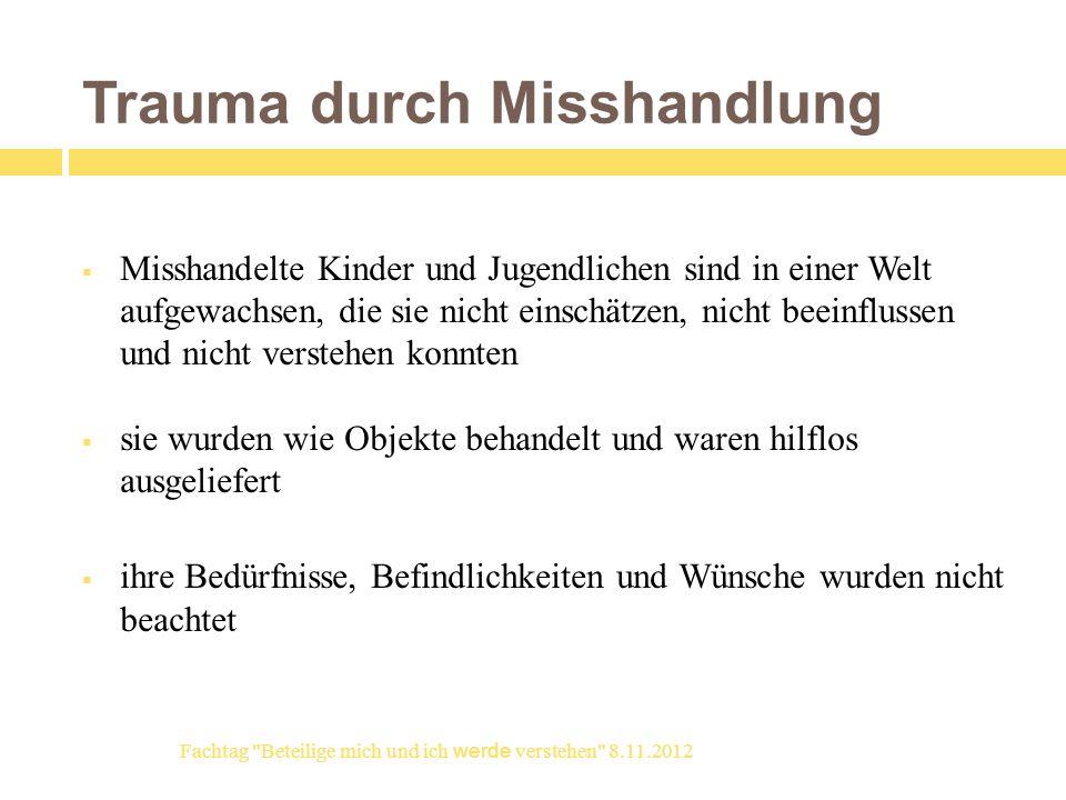 Widersacher der Partizipation Erlernte Hilflosigkeit - learned helplessness depression (M.
