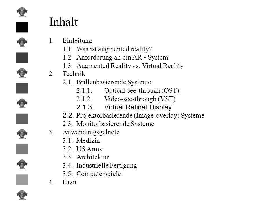 1. Einleitung Werden Augmented-Reality -Systeme unser heutiges Leben weiter bereichern?