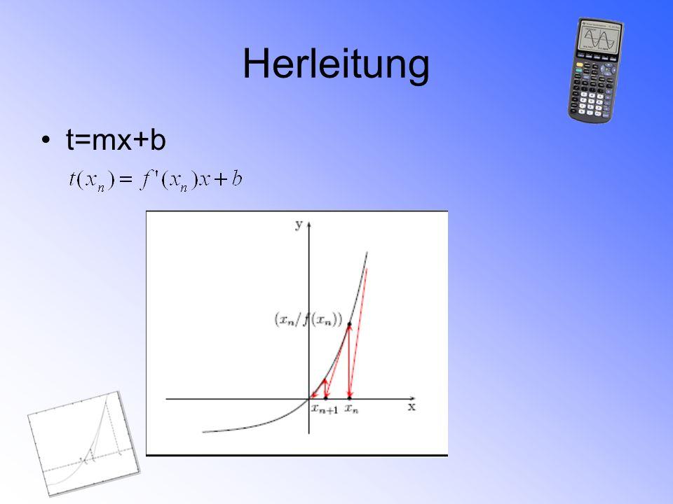 Newton-Verfahren divergiert von der Nullstelle Konvergenz Fälle ohne Konvergenz