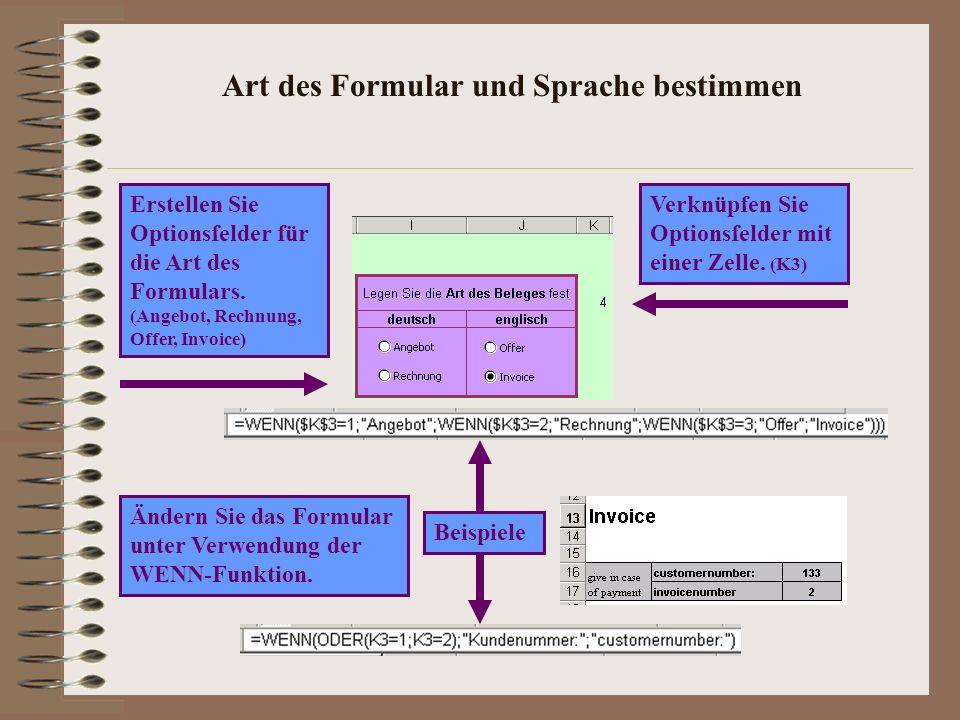 Anwendung gestalten Ausgabebereich (Formular) Eingabebereich