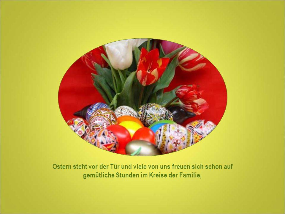 Ostern und das Ei Symbol des Lebens und das Fest der Auferstehung Jesu Christi.