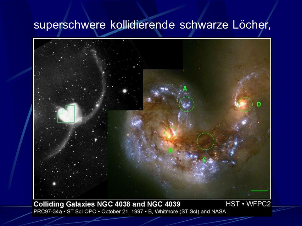 superschwere kollidierende schwarze Löcher,