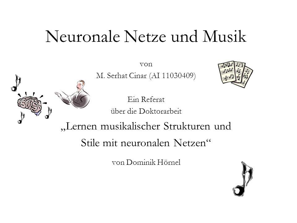 42 Melodiekomposition – Melogenet Aufbau 2 Melogenet besteht aus mehreren unabhängigen Teilnetzen.