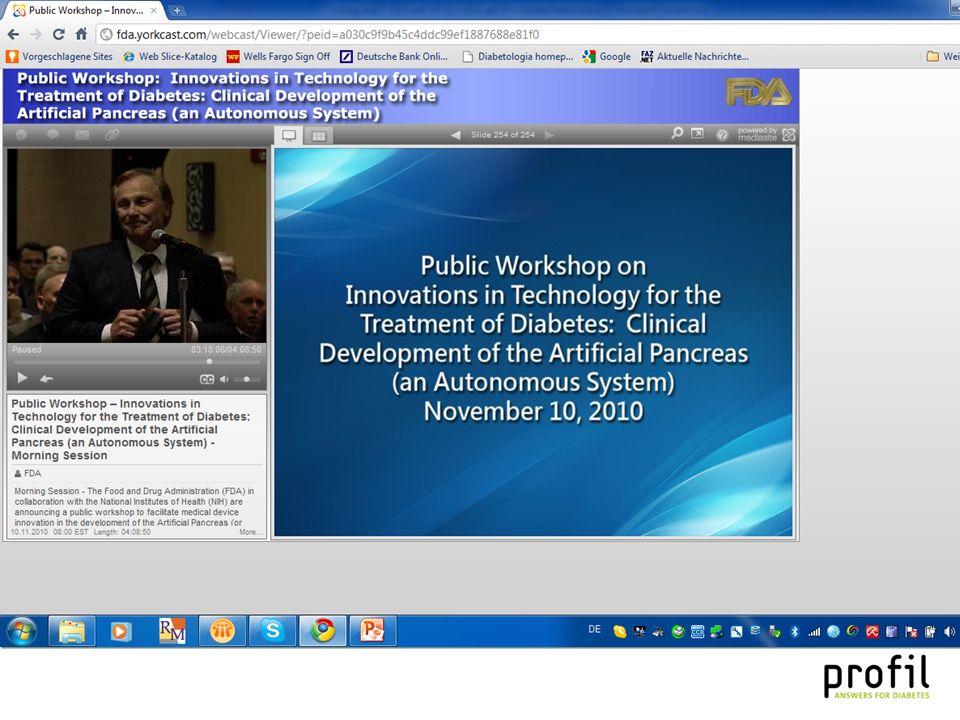 Ziel der Veranstaltung war: FDA legt ihre Sichtweise auf AP und dazugehörige Aspekte für die Zulassung sowie die Durchführung von entsprechenden klinischen Studien in einem öffentlichen Diskurs dar Im Gegenzug lernt sie die Ansichten von klinischen Fachleuten dazu kennen FDA hofft dadurch den besten regulatorischen Umgang mit diesem Thema erkennen zu können In den Jahren 2005 und 2008 gab es schon vergleichbar gelagerte Workshops zu diesem Thema