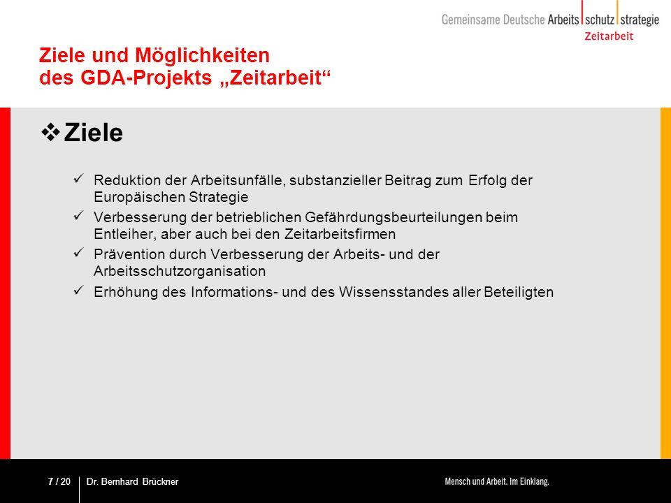 / 20 Methodik – Systematik des Leitfadens Fachdokumentation Zeitarbeit: 6.Ableitung behördlicher Maßnahmen Ist es notwendig dem Verleiher Maßnahmen im Zusammenhang mit der Zeitarbeit aufzuerlegen (direkt oder indirekt).