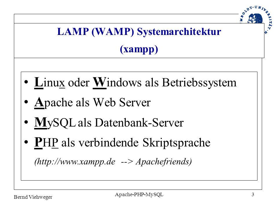 Bernd Viehweger Apache-PHP-MySQL24 7.