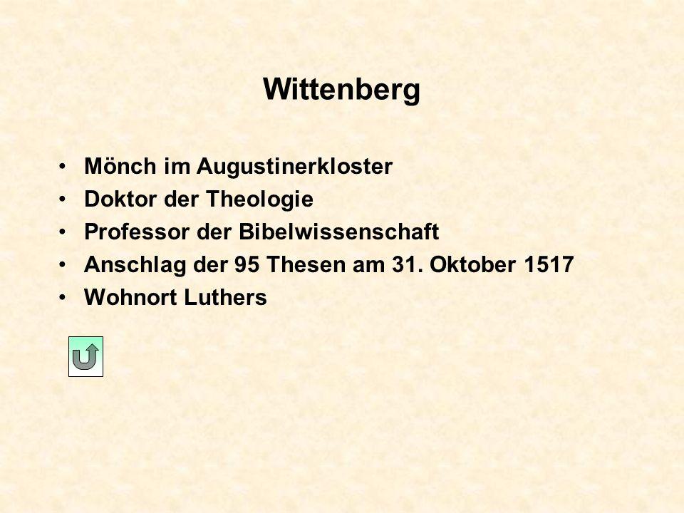 Stotternheim Martin Luther wird von einem Gewitter überrascht. Er macht ein Versprechen