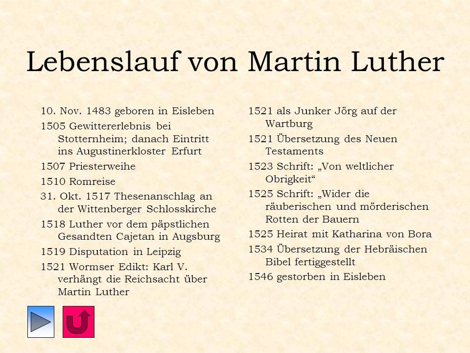 Rom Papst Leo X. schließt am 3. Januar 1521 Luther aus der Kirche aus.