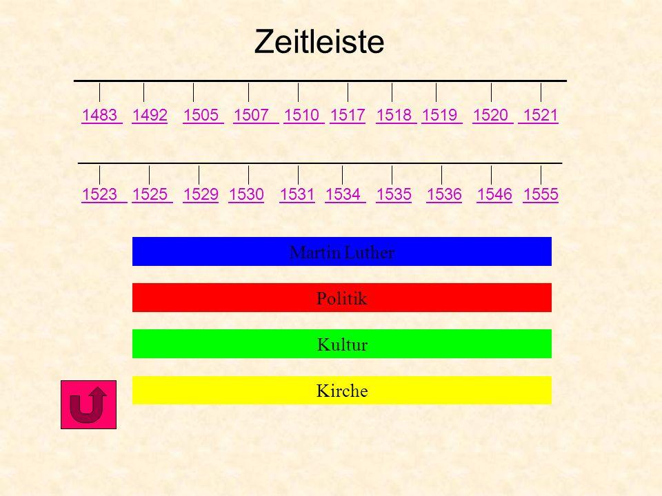 Lebenslauf von Katharina von Bora 29. Jan. 1499 Geboren in Lippendorf 1515-23 Nonne im Zisterzienserkloster Marienthron in Nimbschen 1523 Flucht aus d