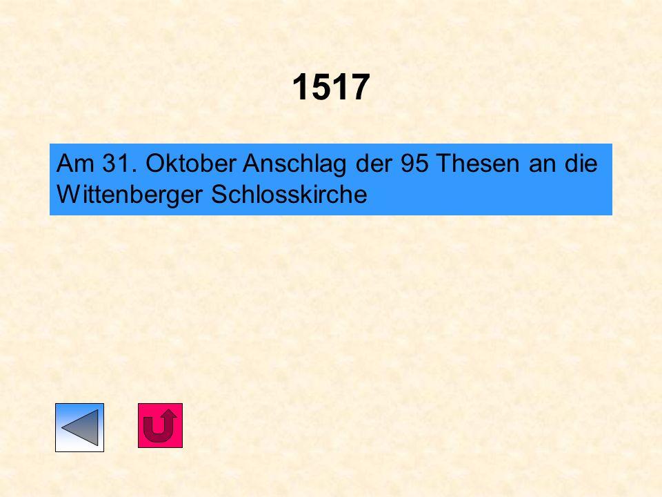 1510 Martin Luther reist nach Rom