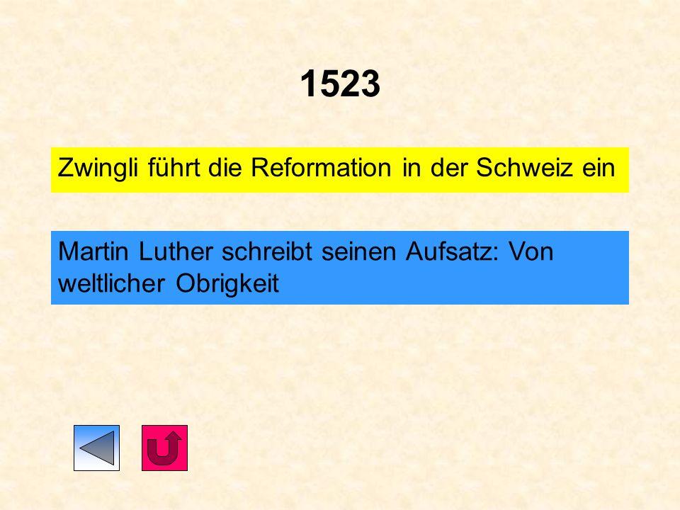 1521 Papst Leo X. verbannt Luther aus der Kirche. 1521/1522 Luther übersetzt das Neue Testament Der sächsische Kurfürst Friedrich der Weise lässt Luth