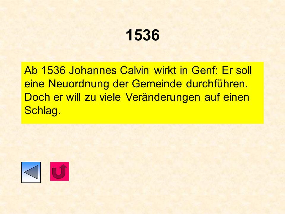 1534 Gründung des Jesuitenordens Martin Luther übersetzt das Alte Testament (die hebräische Bibel) 1534/1535 Täuferreich in Münster