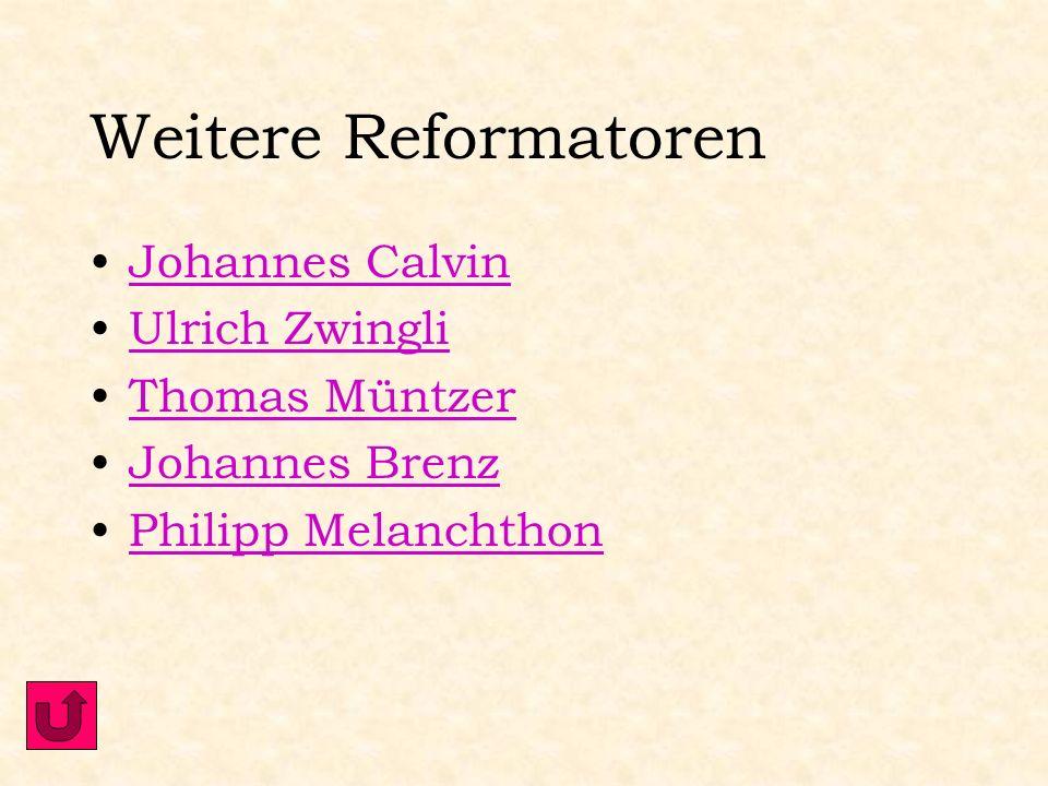 1555 Augsburger Religionsfriede: Die Streitenden Religionsparteien bringen nach schwierigen Verhandlungen einen Kompromiss zustande. Man musste sich v