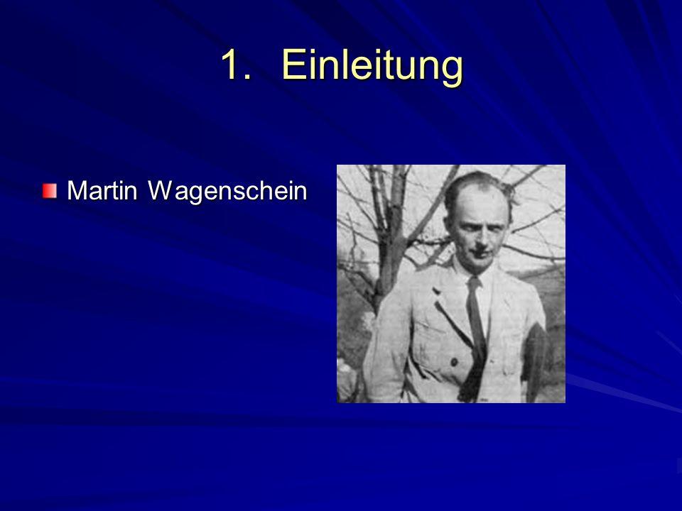 1.Einleitung Martin Wagenschein