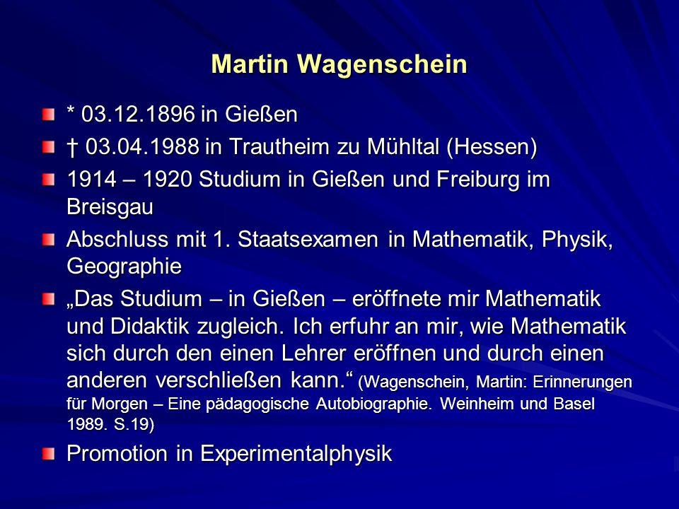 1920 – 1921 Arbeit als Hochschulassistent Der Zauber der Wissenschaft hatte begonnen, mich in seinen Sog zu nehmen.