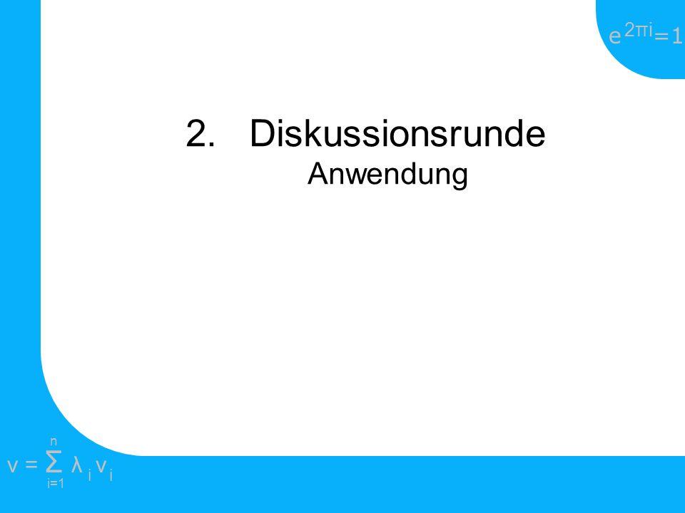 e =1 2πi2πi i=1 v = Σ λ v ii n 1845-1918 deutscher Mathematiker Schüler von Weierstrass und Kronecker Litt seit dem 41 Lebensjahr an manischer Depression Gilt als Begründer der Mengenlehre Beschäftigte sich mit Äquivalenz, Mächtigkeit und Abzählbarkeit von Mengen und entwickelte das noch heute verwendete Diagonalverfahren 5.