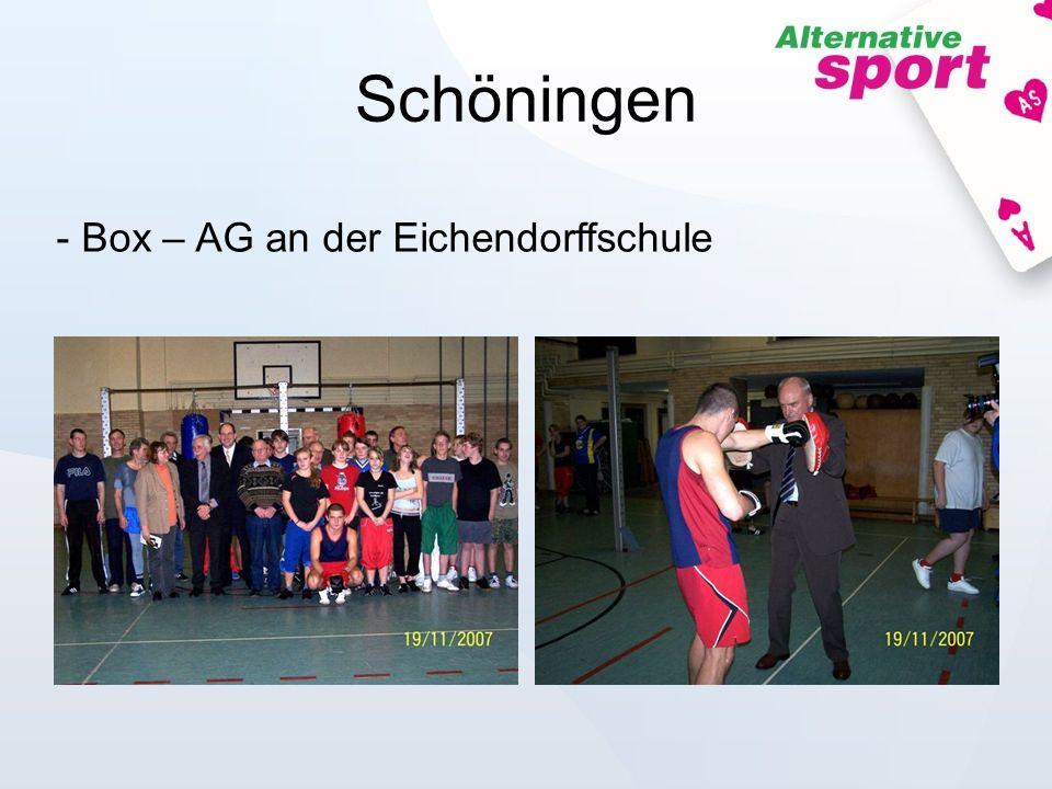 Schöningen - Box – AG an der Eichendorffschule