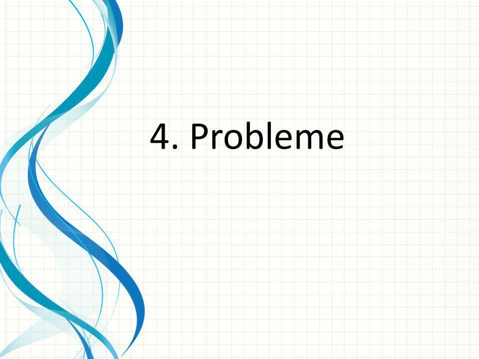 4. Probleme