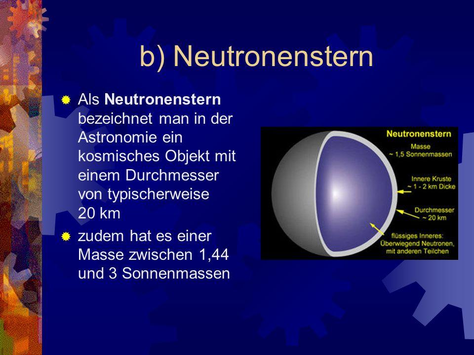 Ist die Masse des Vorläufersterns größer als etwa 1,44 Sonnenmassen, die Chandrasekhar-Grenze, so ist kein Gleichgewicht möglich, und der Stern kollab