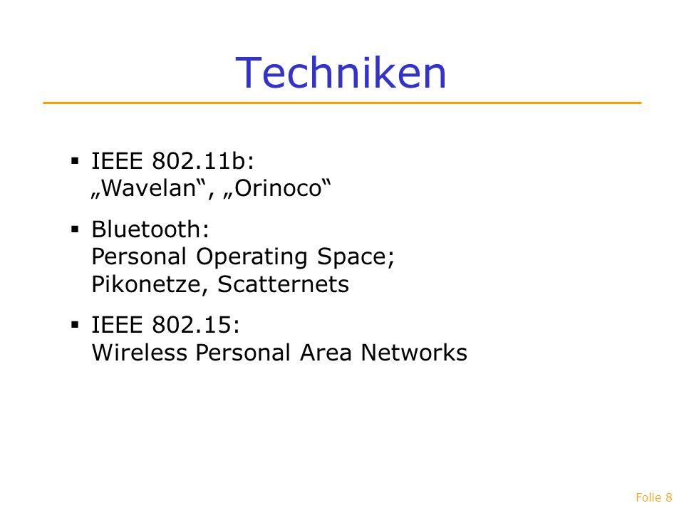 Folie 9 Routing Warum Routing? Warum neue Verfahren? Warum nicht RIP oder OSPF?