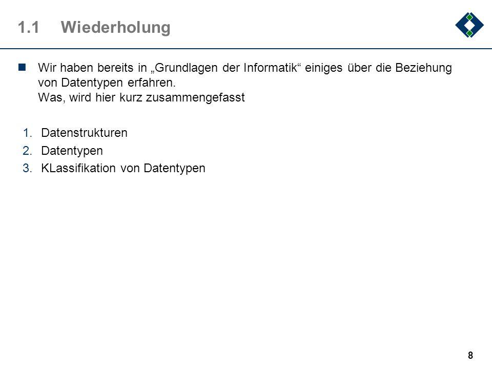 1.8.4Binäre Bäume: Traversierung 49 private void printPreorder (TreeNode n) { if (n != nullNode) { System.out.println (n.toString ()); printPreorder (n.getLeft ()); printPreorder (n.getRight ()); } private void printPostorder (TreeNode n) { if (n != nullNode) { printPostorder (n.getLeft ()); printPostorder (n.getRight ()); System.out.println (n.toString ()); } protected void printInorder (TreeNode n) { if (n != nullNode) { printInorder (n.getLeft ()); System.out.println (n.toString ()); printInorder (n.getRight ()); } private void printLevelorder (Queue q) { while (.