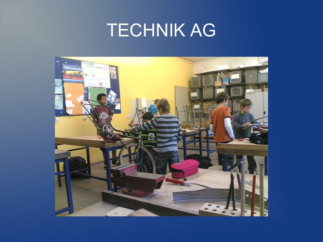 TECHNIK AG Ab Februar begann der schwierigste Teil der Arbeit, nämlich alle Teile mit der Feile bzw.
