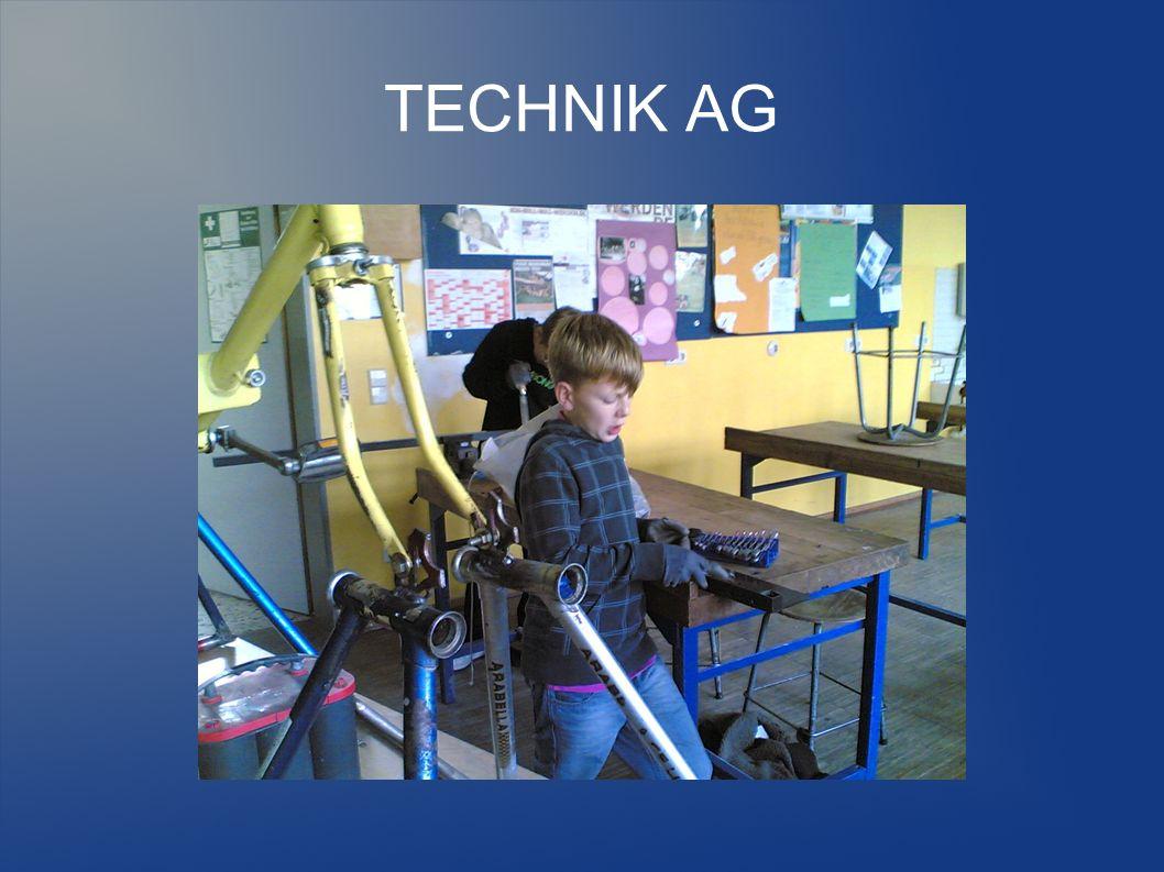 TECHNIK AG Schülerwünsche für die Zukunft: Es wäre toll, wenn so eine AG auch im nächsten Jahr angeboten würde.