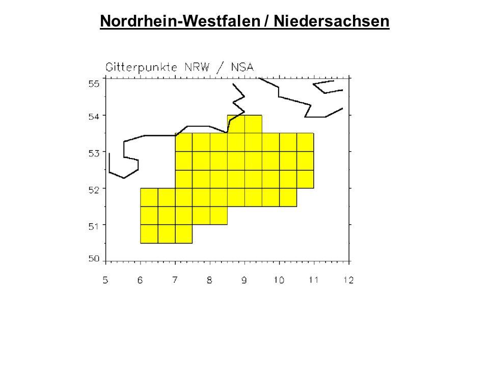 Nordrhein-Westfalen / Niedersachsen