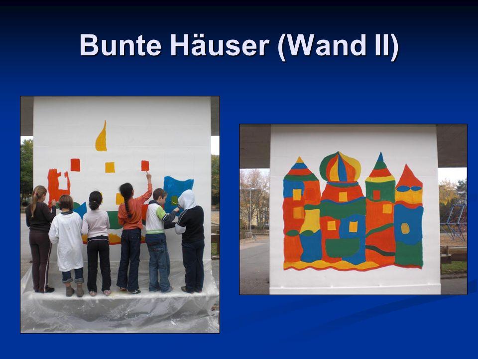 Bunte Häuser (Wand II)