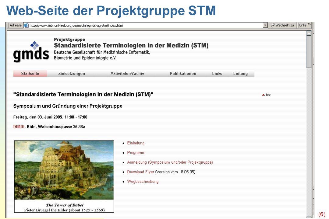 Ingenerf, Lübeck (6) Web-Seite der Projektgruppe STM