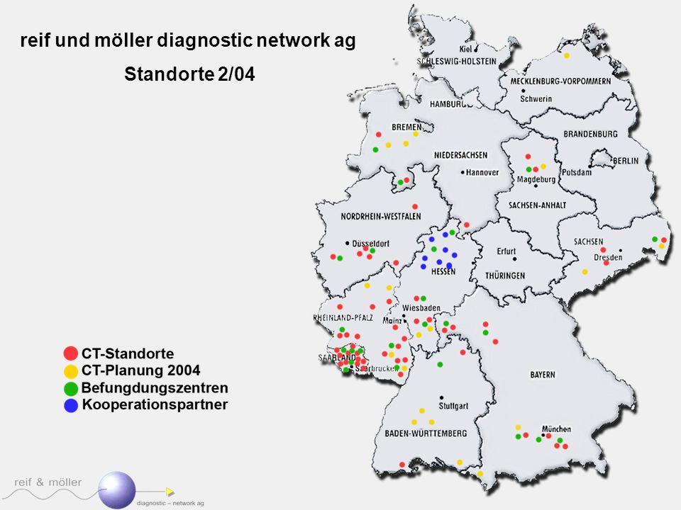 reif und möller diagnostic network ag Standorte 2/04