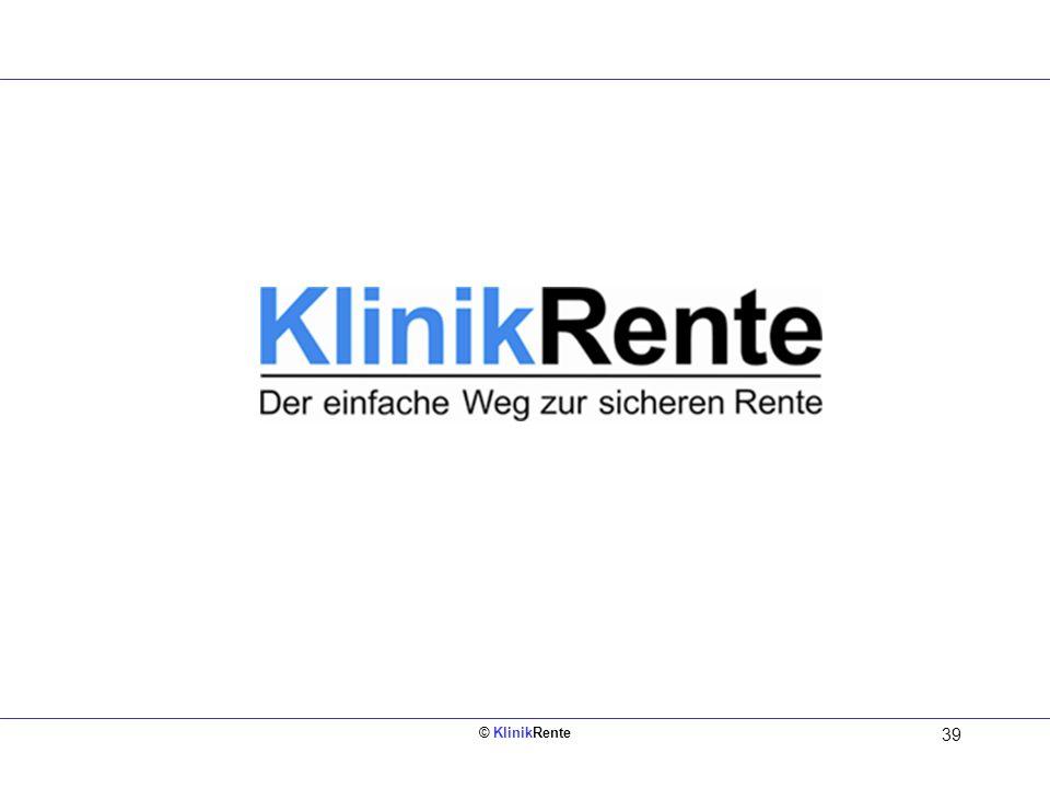 © KlinikRente 39