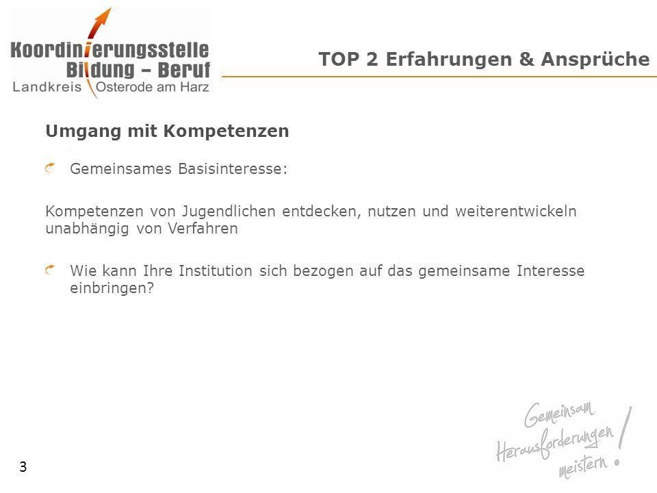TOP 3 Organisatorisches 11 Weitere Vorgehensweise Nächster Termin Anfang Juni Fragen & Anregungen