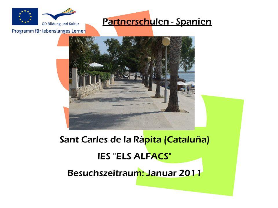 Partnerschulen - Spanien Sant Carles de la Ràpita (Cataluña) IES